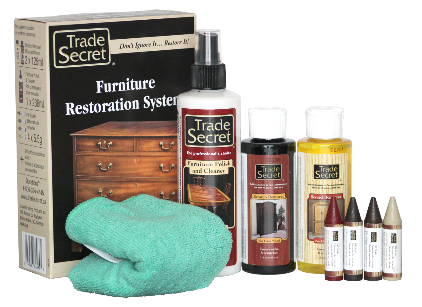 Furniture Restoration System Trade Secret