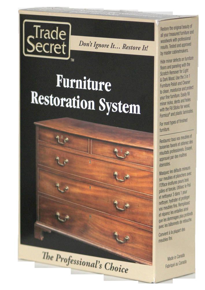 Furniture Restoration System Trade Secret