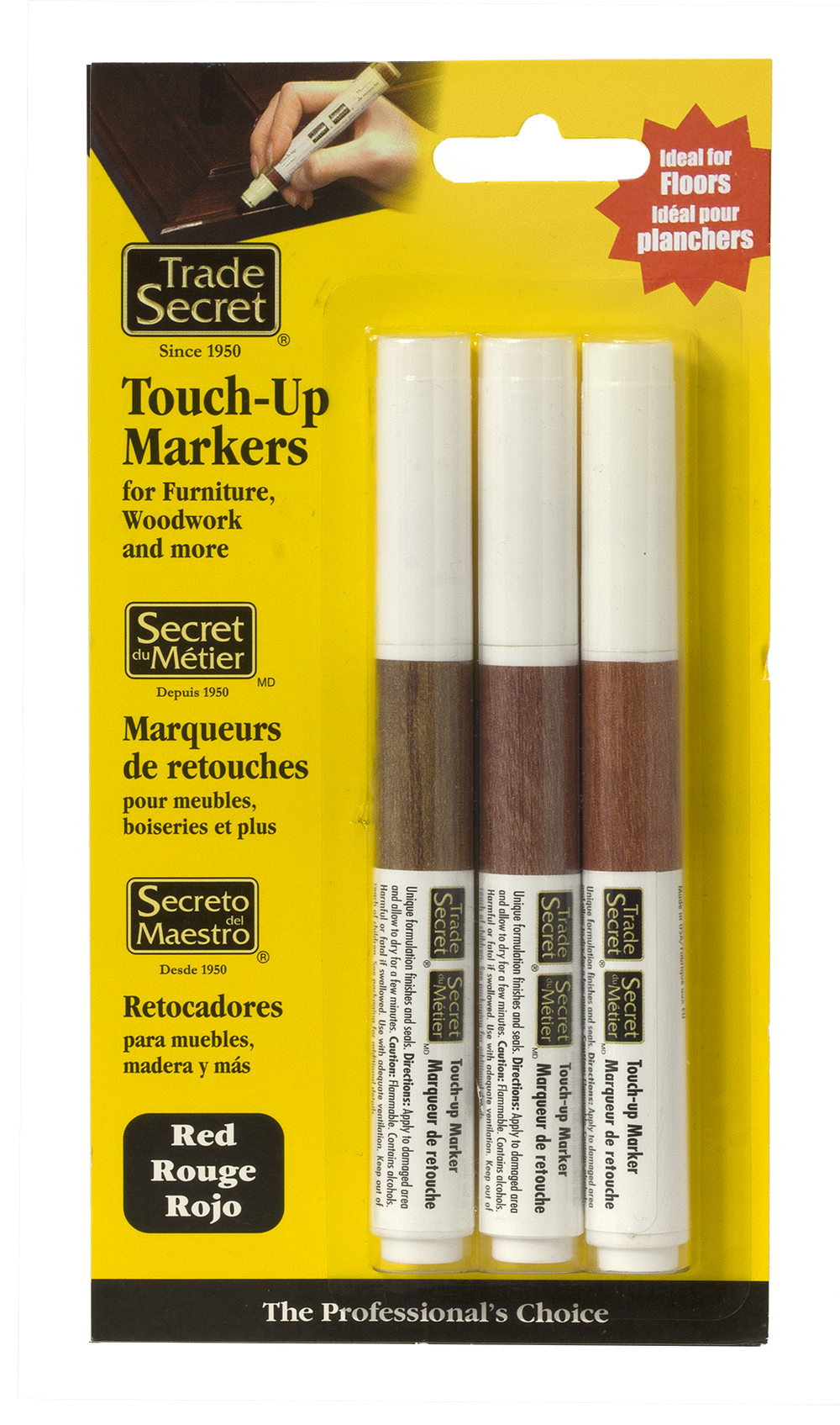 Touch Up Markers Trade Secret
